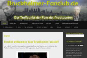 Ausschnitt aus der Website bruckheimer-fanclub.de